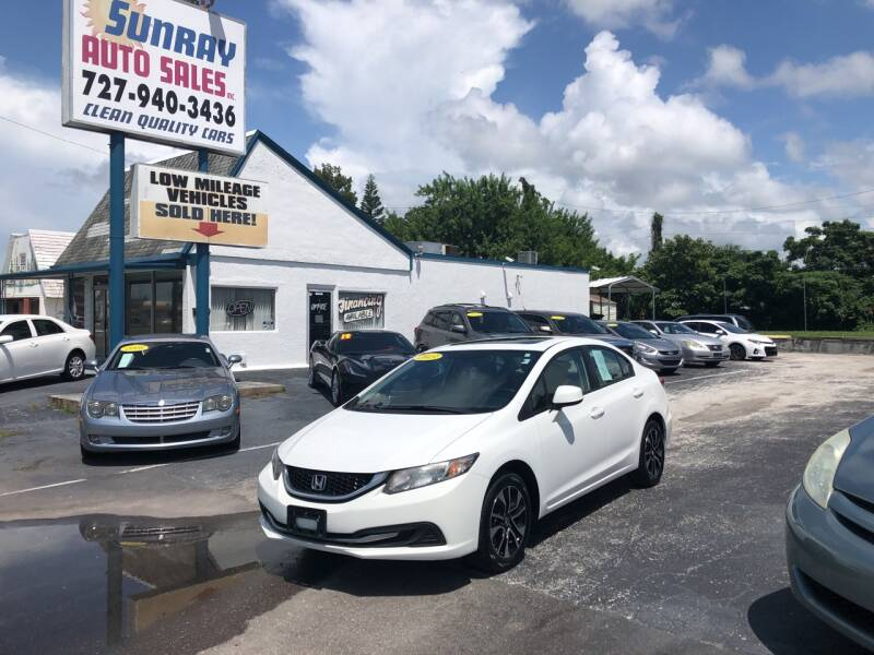 2013 Honda Civic for sale at Sunray Auto Sales Inc. in Holiday FL