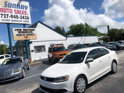 2011 Volkswagen Jetta for sale at Sunray Auto Sales Inc. in Holiday FL