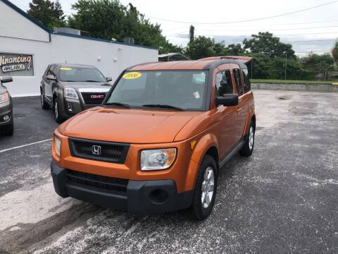 2006 Honda Element for sale at Sunray Auto Sales Inc. in Holiday FL