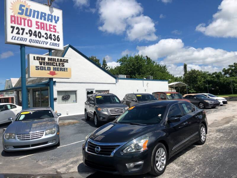 2015 Nissan Altima for sale at Sunray Auto Sales Inc. in Holiday FL