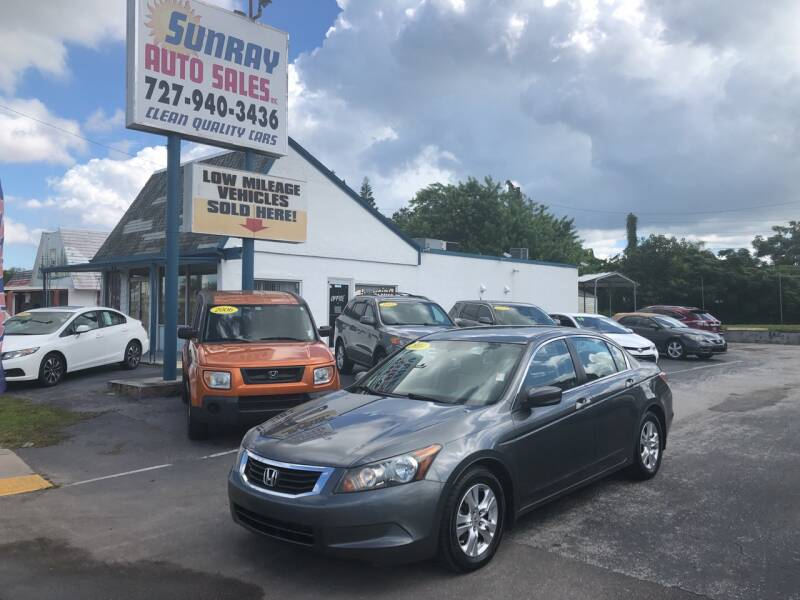 2010 Honda Accord for sale at Sunray Auto Sales Inc. in Holiday FL