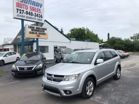 2012 Dodge Journey for sale at Sunray Auto Sales Inc. in Holiday FL