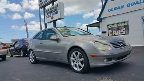 2004 Mercedes-Benz C-Class for sale at Sunray Auto Sales Inc. in Holiday FL