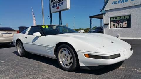 1993 Chevrolet Corvette for sale at Sunray Auto Sales Inc. in Holiday FL
