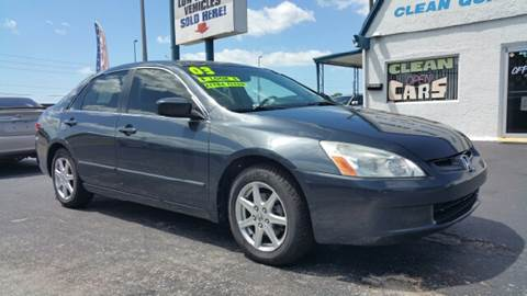 2003 Honda Accord for sale at Sunray Auto Sales Inc. in Holiday FL