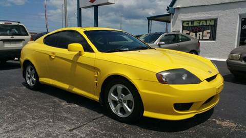 2006 Hyundai Tiburon for sale at Sunray Auto Sales Inc. in Holiday FL