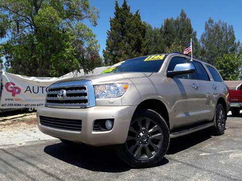 2008 Toyota Sequoia for sale at GP Auto Connection Group in Haines City FL