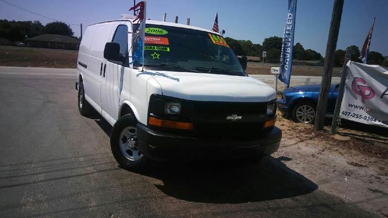 Chevrolet Express Cargo 2006 1500 3dr Van