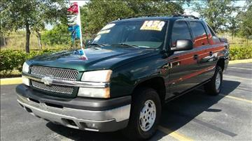 2004 Chevrolet Avalanche for sale at GP Auto Connection Group in Haines City FL