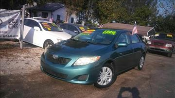 2009 Toyota Corolla for sale in Haines City, FL