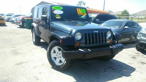 2008 Jeep Wrangler Unlimited for sale in Haines City, FL