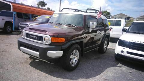 2007 Toyota FJ Cruiser for sale in Haines City, FL
