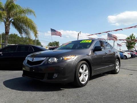 2009 Acura TSX for sale in Haines City, FL