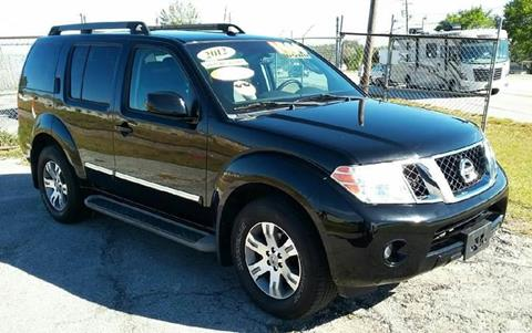 2012 Nissan Pathfinder for sale at GP Auto Connection Group in Haines City FL
