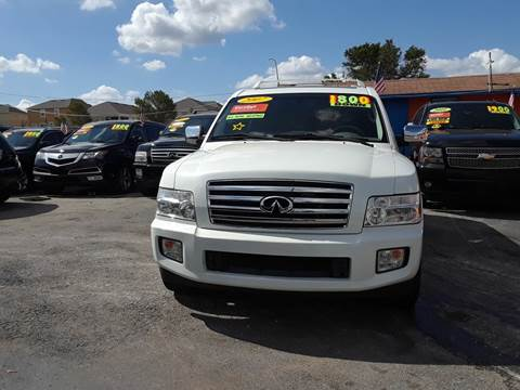 2007 Infiniti QX56 for sale at GP Auto Connection Group in Haines City FL
