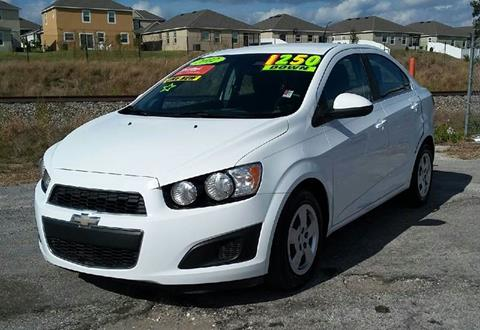 2012 Chevrolet Sonic for sale at GP Auto Connection Group in Haines City FL