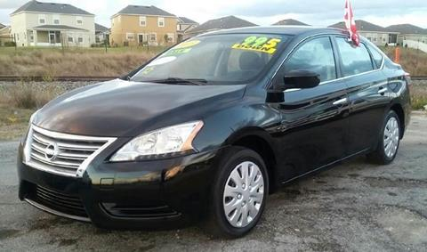 2013 Nissan Sentra for sale at GP Auto Connection Group in Haines City FL