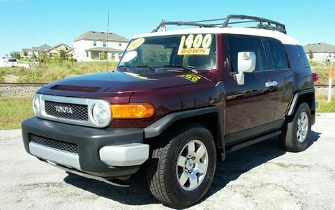 2007 Toyota FJ Cruiser for sale at GP Auto Connection Group in Haines City FL