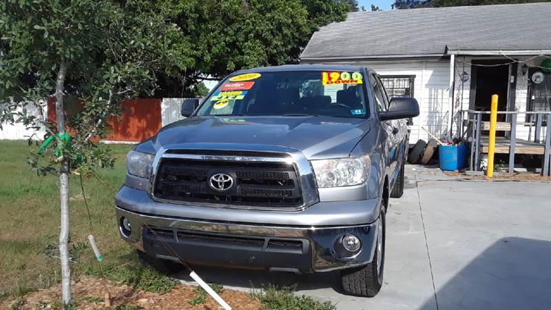 Toyota Tundra 2010 Grade 4x4 4dr Double Cab Pickup LB (4.6L V8)