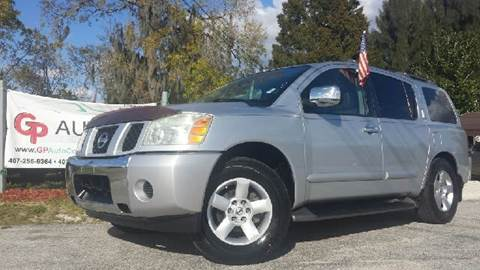 2004 Nissan Armada for sale at GP Auto Connection Group in Haines City FL