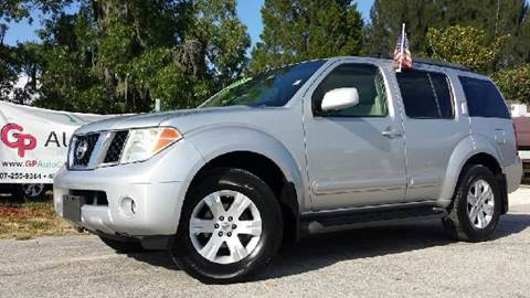 2005 Nissan Pathfinder for sale at GP Auto Connection Group in Haines City FL