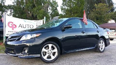 2012 Toyota Corolla for sale at GP Auto Connection Group in Haines City FL