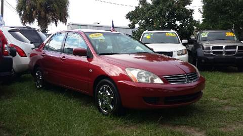 2006 Mitsubishi Lancer for sale at GP Auto Connection Group in Haines City FL