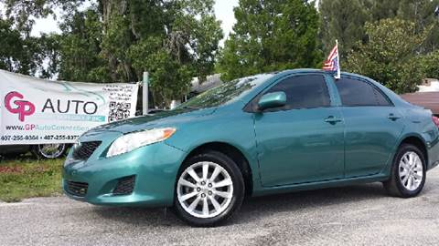 2009 Toyota Corolla for sale at GP Auto Connection Group in Haines City FL