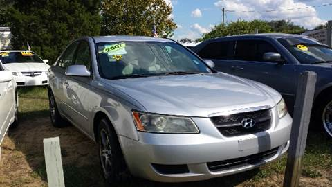 2007 Hyundai Sonata for sale at GP Auto Connection Group in Haines City FL