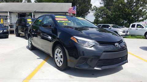 2016 Toyota Corolla for sale at GP Auto Connection Group in Haines City FL