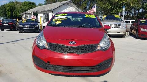 2014 Kia Rio for sale at GP Auto Connection Group in Haines City FL