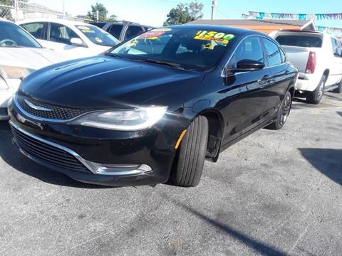 2015 Chrysler 200 for sale at GP Auto Connection Group in Haines City FL