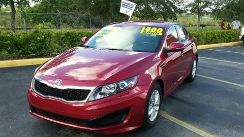 2011 Kia Optima for sale at GP Auto Connection Group in Haines City FL