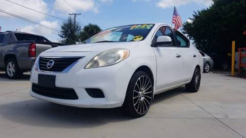 2012 Nissan Versa for sale at GP Auto Connection Group in Haines City FL