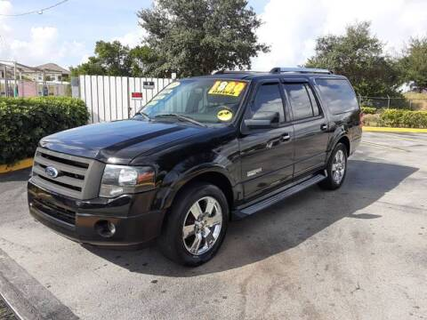 2008 Ford Expedition EL for sale at GP Auto Connection Group in Haines City FL