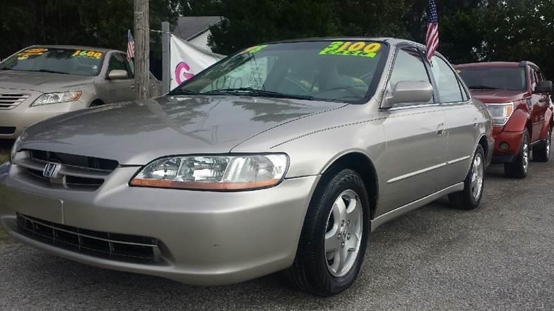 1998 Honda Accord Ex V6 4dr Sedan In Haines City Fl Gp Auto