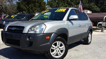 2007 Hyundai Tucson for sale at GP Auto Connection Group in Haines City FL