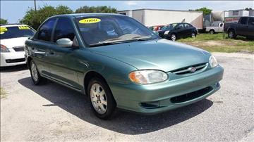 2000 Kia Sephia for sale at GP Auto Connection Group in Haines City FL