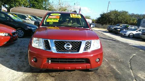 2008 Nissan Pathfinder for sale at GP Auto Connection Group in Haines City FL