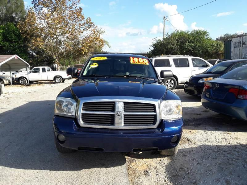 2007 Dodge Dakota for sale at GP Auto Connection Group in Haines City FL