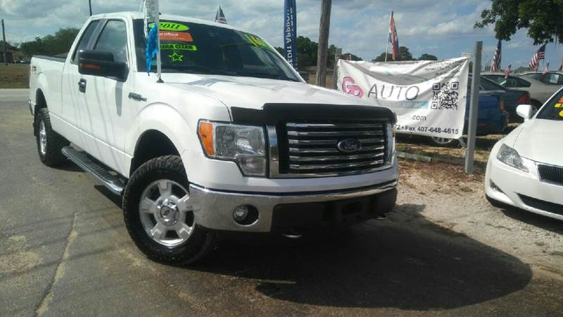 2011 ford f 150 4x4 stx 4dr supercab styleside 6 5 ft sb in haines city fl gp auto connection. Black Bedroom Furniture Sets. Home Design Ideas
