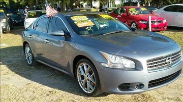 2010 Nissan Maxima for sale at GP Auto Connection Group in Haines City FL