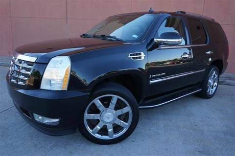 2007 cadillac escalade for sale in houston tx. Black Bedroom Furniture Sets. Home Design Ideas