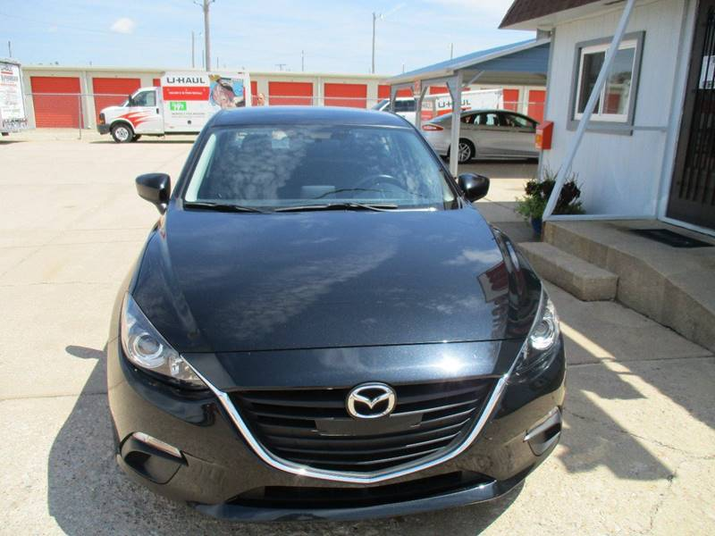 2016 Mazda MAZDA3 i Sport 4dr Sedan 6A - Hutchinson KS
