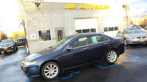 2008 Acura TSX for sale at JBR Auto Sales in Albany NY
