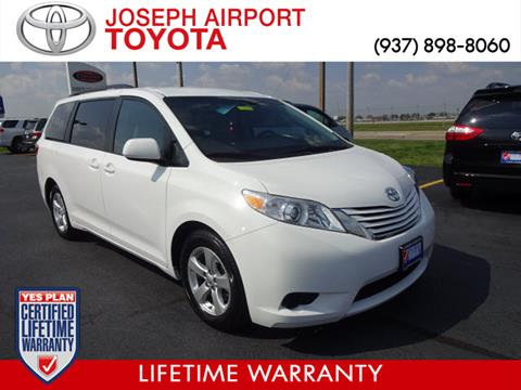 2016 Toyota Sienna for sale in Vandalia, OH