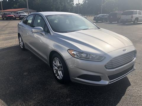 2016 Ford Fusion for sale in Jackson, AL