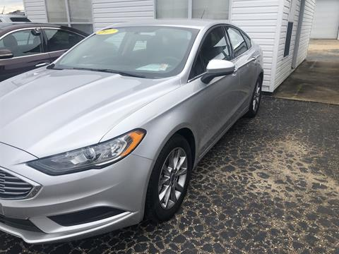 2017 Ford Fusion for sale in Jackson, AL