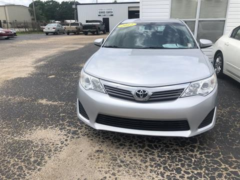 2012 Toyota Camry for sale in Jackson, AL