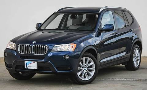 2014 BMW X3 for sale at BAVARIAN AUTOGROUP LLC in Kansas City MO